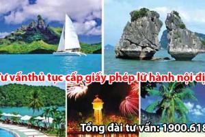 Tư vấn thủ tục cấp giấy phép lữ hành nội địa tại Hà Nội