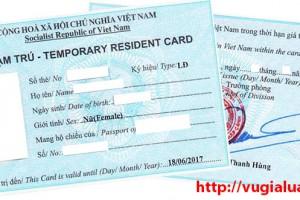 Tư vấn thủ tục cấp thẻ tạm trú cho người nước ngoài tại Hà Nội