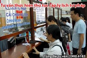 Tư vấn thực hiện thủ tục cấp lý lịch tư pháp tại Hà Nội